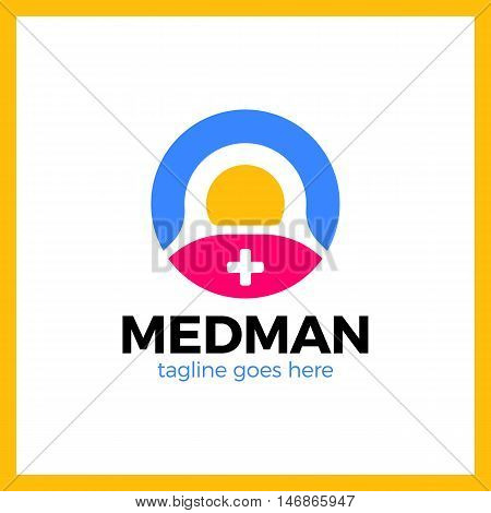 Medical Logo - The Concept For Sign A  Institution,  Center, Foundation, Organization, Association,