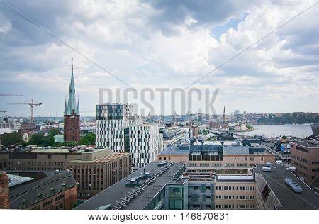 Cityscape Stockholm Sweden