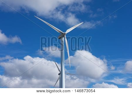 Electricity, wind power alternative to climate change