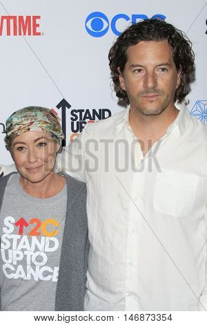 LOS ANGELES - SEP 9:  Shannen Doherty, Kurt Iswarienko at the 5th Biennial Stand Up To Cancer at the Walt Disney Concert Hall on September 9, 2016 in Los Angeles, CA