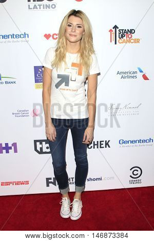 LOS ANGELES - SEP 9:  Grace Helbig at the 5th Biennial Stand Up To Cancer at the Walt Disney Concert Hall on September 9, 2016 in Los Angeles, CA