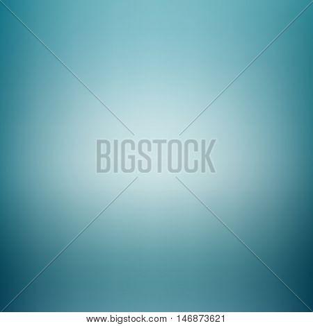 blue studio room backdrop background soft light. Mock up template product .