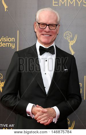 LOS ANGELES - SEP 11:  Tim Gunn at the 2016 Primetime Creative Emmy Awards - Day 2 - Arrivals at the Microsoft Theater on September 11, 2016 in Los Angeles, CA