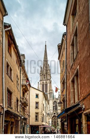 Editorial,31St July 2016: Nancy, France: Touristic Center Of The City, Street View
