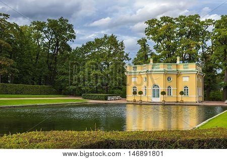 Pavilion of the Catherine Palace Pushkin. St. Petersburg. Russia