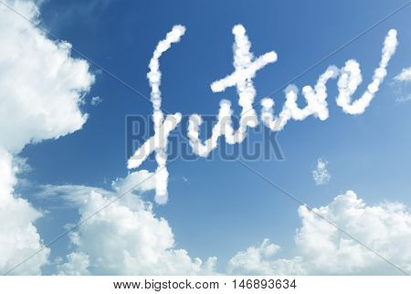 Future written in the sky