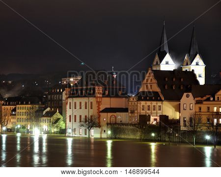 Koblenz City Germany with historic German Corner where Rhine and moselle flow together5