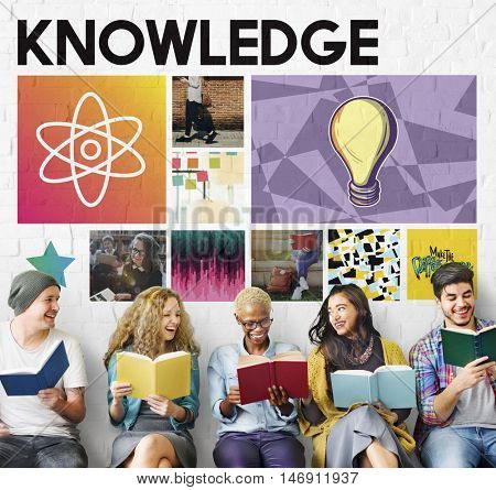 Academic Knowledge Learning Literacy Graphic Concept