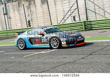 Vallelunga, Rome, Italy. September 10Th 2016. Touring Car Championship