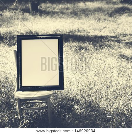Frame Abstract Photo Picture Blank Empty Style Concept