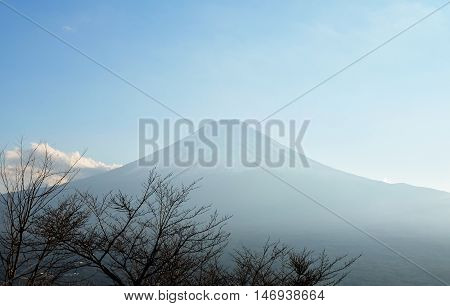 Mount Fuji View From Mount Tenjo View Point