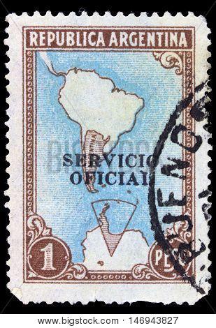 Argentina - Circa 1955