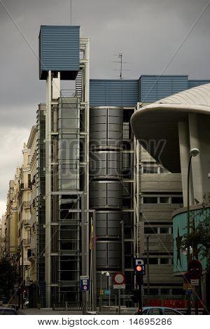 The Madrid street