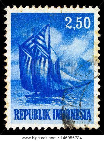 Indonesia - Circa 1956