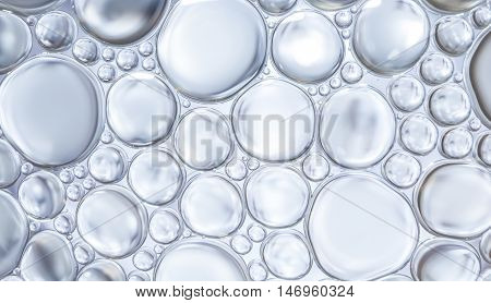 Water Bubbles Abstract Light Illumination