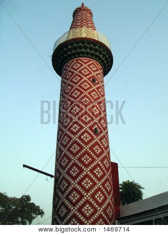 Arabic Style Tower In Lucknow