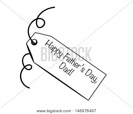 Happy Father's Day Special Gift Present Tag