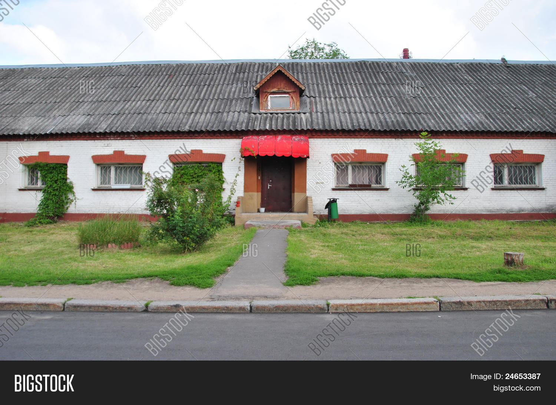 Moderne einstöckige häuser