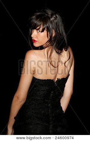 NEW YORK - OCTOBER 24: Paz de la Huerta attends the premiere of