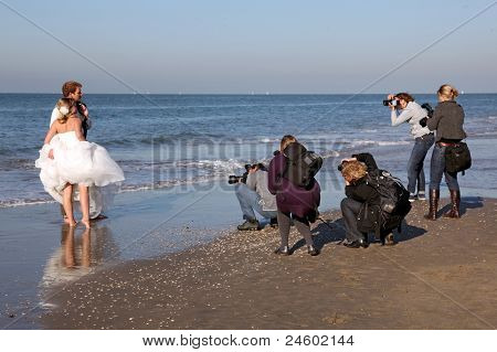 Photographing A Wedding On A Beach