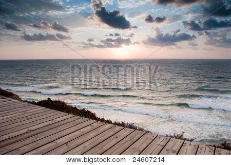 Grey Sunset