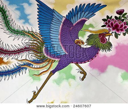 Vermilion Bird Chinese Mythology