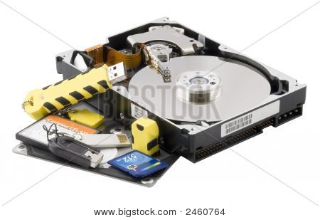 Hard Disk And Flash-Card