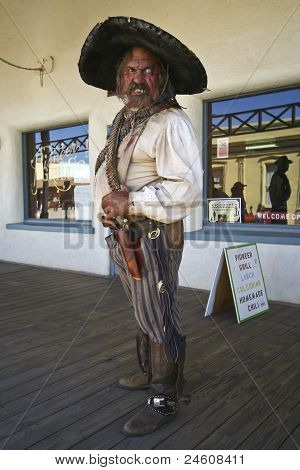 A Bandolero Of Helldorado, Tombstone, Arizona