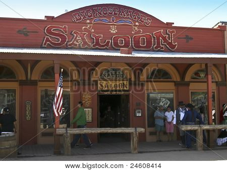 A View Of Big Nose Kates, Tombstone, Arizona