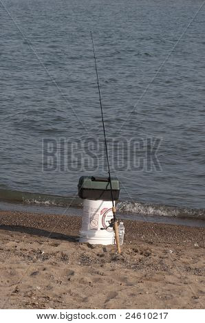 Fishing rod and tackle
