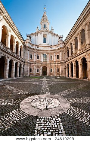 State Archives, Rome, Italy.