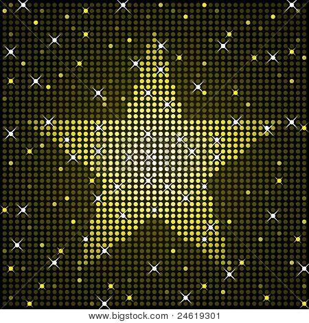 Sparkly star background