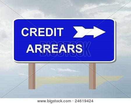 Credit arrears