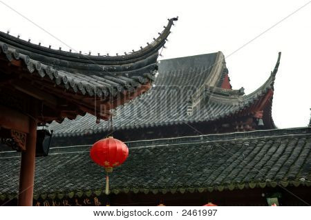 Architecture Of Chinese Temple