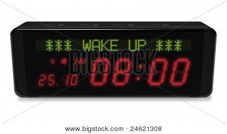 Digital alarm clock