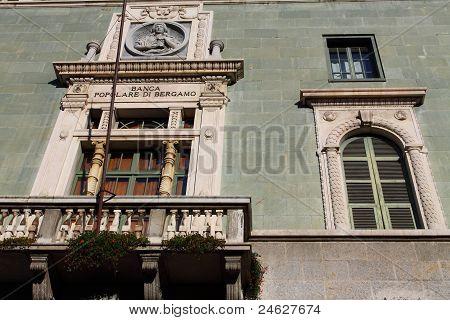 Bergamo Building In Italy