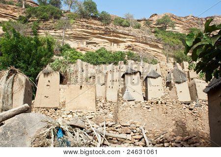 Dogon Village, Mali (africa)..