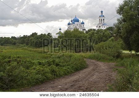 Road To Russian Orthodox Convent Vladimir