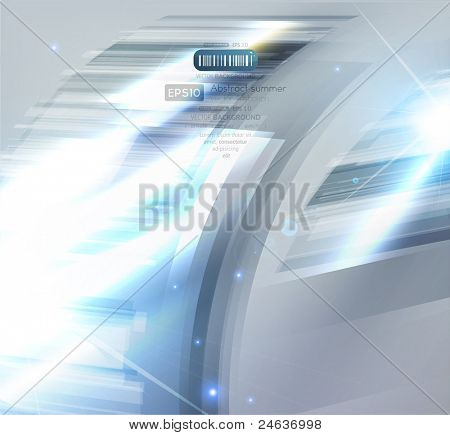 Virtual tecnology vector background. Eps 10.