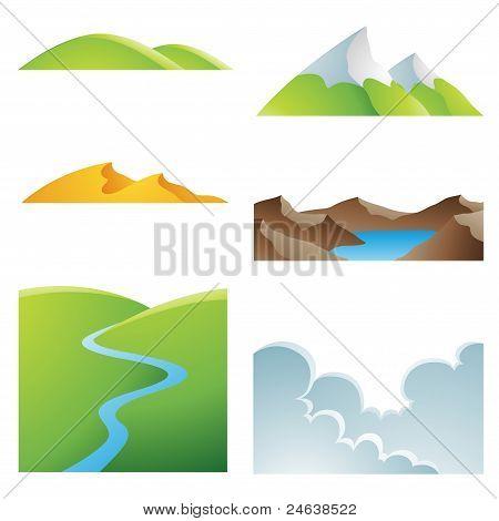 Natural Earth Landscapes