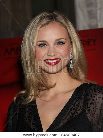 "LOS ANGELES - OCT 3:  Fiona Gubelmann arrives to the ""American Horror Story"" Los Angeles Premiere  on October 3,2011 in Hollywood, CA"