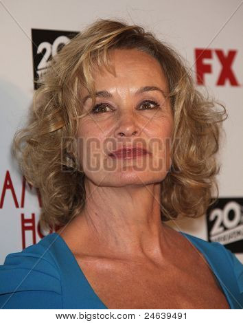 LOS ANGELES - OCT 3:  Jessica Lange arrives to the