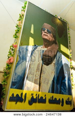 Colonel Muammar Al-gaddafi