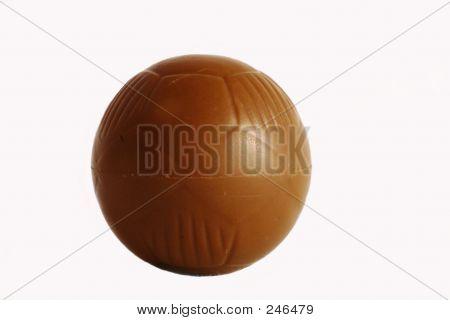 Schokolade-Fußball