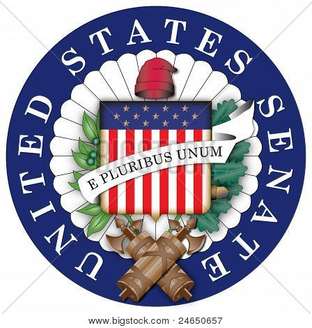 Seal of the United States Senate Color