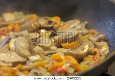 Mushroom And Vegetable Sauté