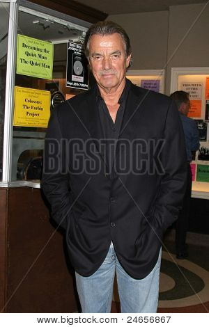 LOS ANGELES - SEPT 28:  Eric Braeden arriving at  the Retrospective Screening of Colossus: The Forbin Project at the Aero Theater on September 28, 2011 in Santa Monica, CA