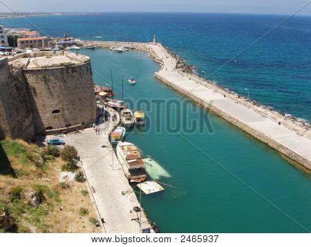 Kyrenia, Cyprus - Kyrenia Castle Walls