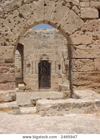 Kyrenia, Cyprus - Inside The Kyrenia Castle