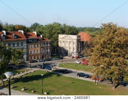 Warsaw, Poland - Buildings From The Old Town